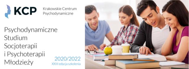 Rekrutacja narok akademicki 2020/2021 doPsychodynamicznego Studium Socjoterapii iPsychoterapii Młodzieży